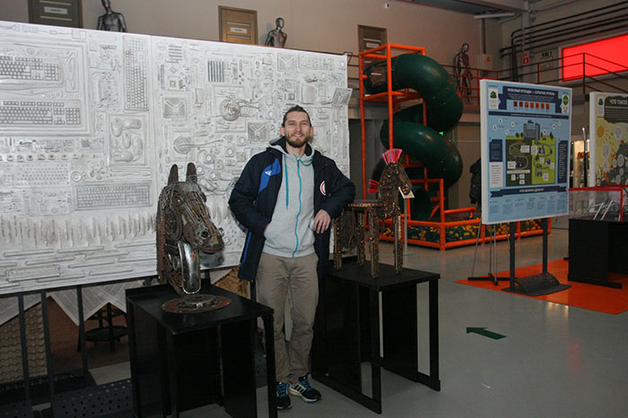 Открытие Музея Мусора МУ МУ