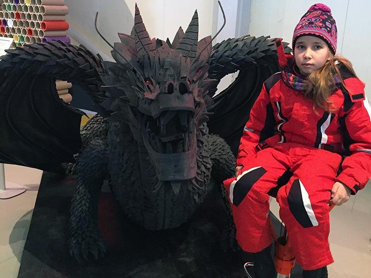 Первые посетители Музея Мусора МУ МУ