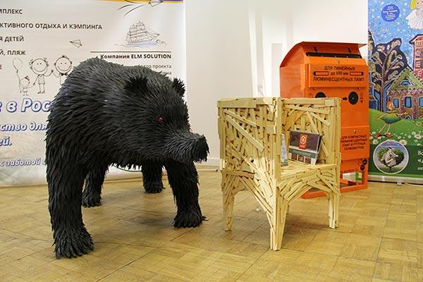 Музей Мусора на выставке «Российская экологическая неделя»