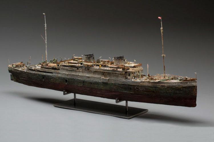 Макет корабля «Georgic» (Великобритания)
