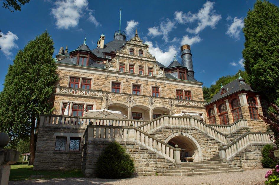Наш отель в Германии Schloss Wolfsbrunnen (Волчий Источник)