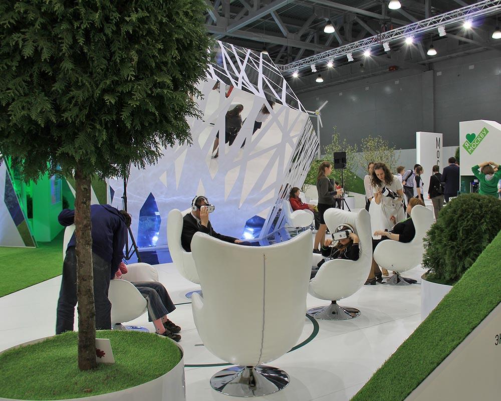 """МУзей Мусора """"МУ МУ"""" на выставке """"ЭКОТЕХ"""" в Москве"""