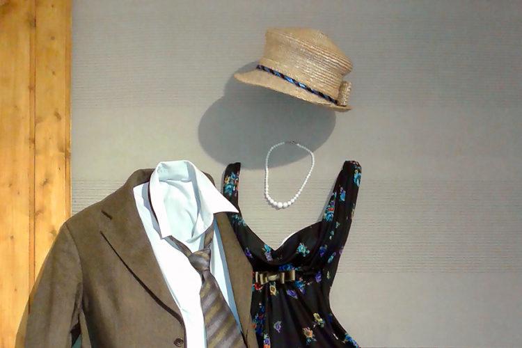 Смысловые инсталляции из гардероба прошлого (серия «Мужчина и Женщина»)