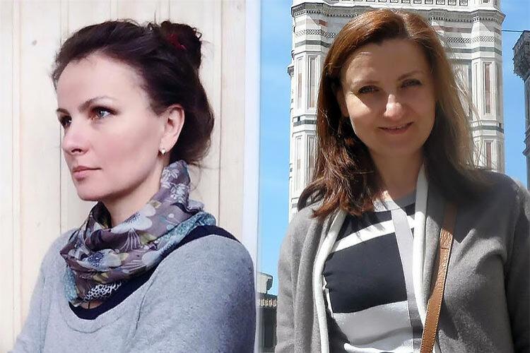 Юлия Орлова и Виктория Самсонова