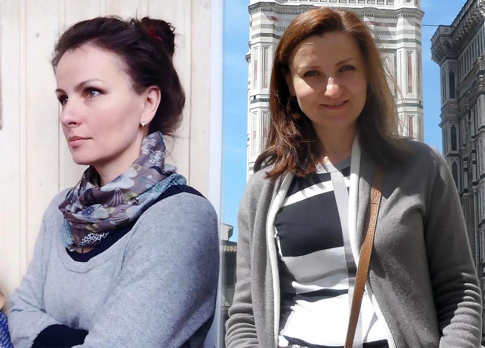 Авторы Музея Мусора МУ-МУ - Орлова Юлия и Самсонова Виктория