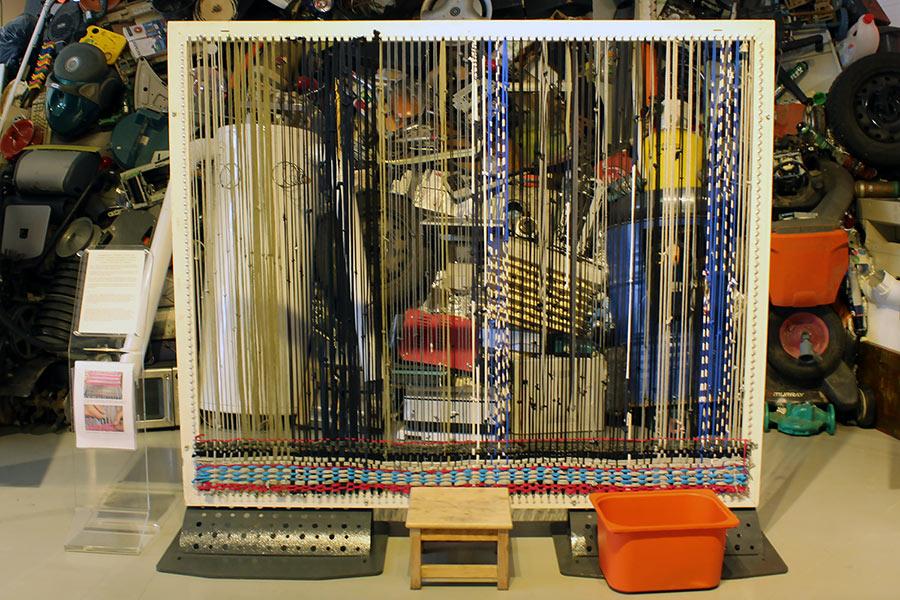 Самодельный ткацкий станок