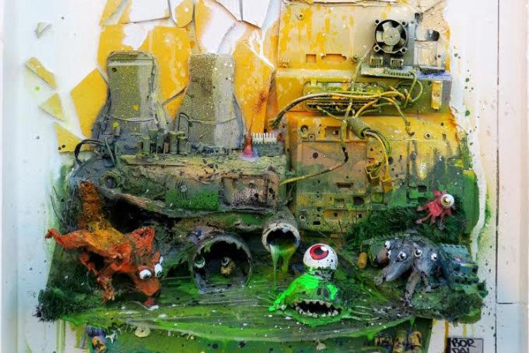 Картина общепризнанного Мастера стиля «trash-art» прибыла в МУ МУ!