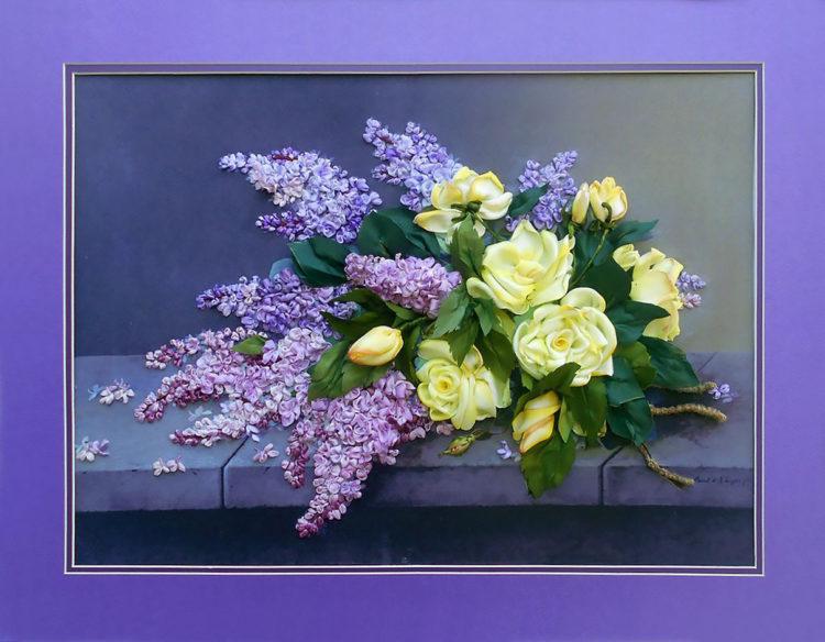 Серия работ «Цветочный атлас»