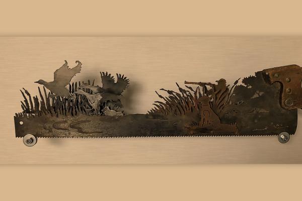 """Новый экспонат в «МУ МУ» — невероятно изящная охотничья пила)) - Новости. Музей МУсора """"МУ МУ"""""""
