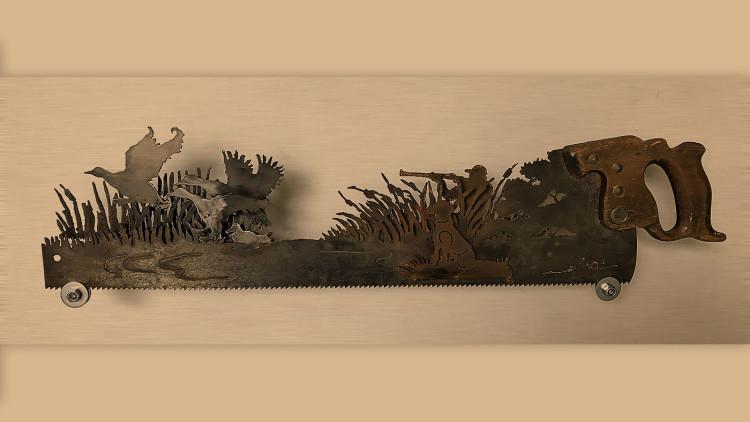 Новый экспонат в «МУ МУ» — невероятно изящная охотничья пила))