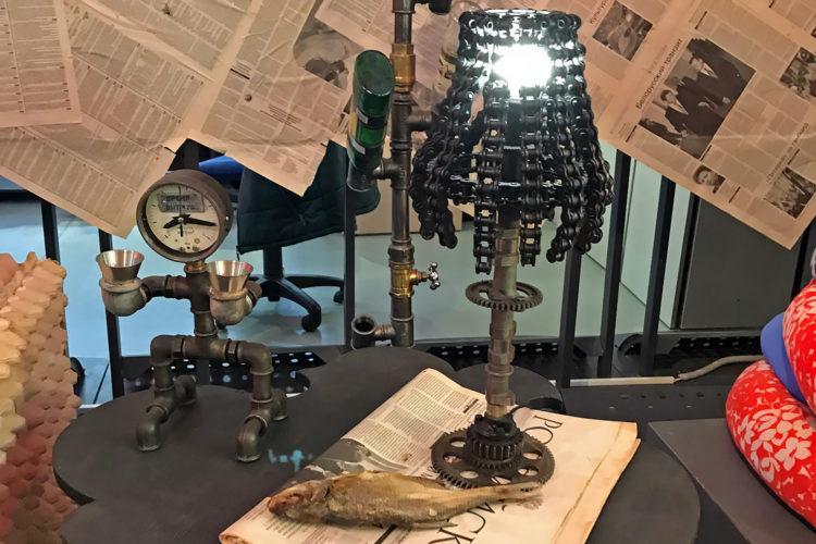 Настольная лампа «Тужур-Абажур»