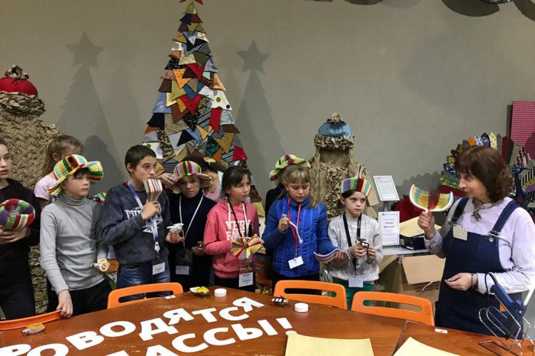 Открытие детского просвет-лагеря «Ель ГрЭКО» в бизнес-парке «Грачи»