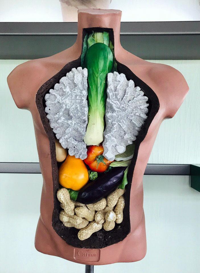 «Не будь овощем, будь человеком!»