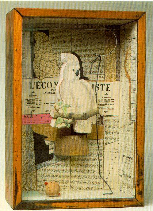 Джозеф Корнелл, «A Parrot for Juan Gris»