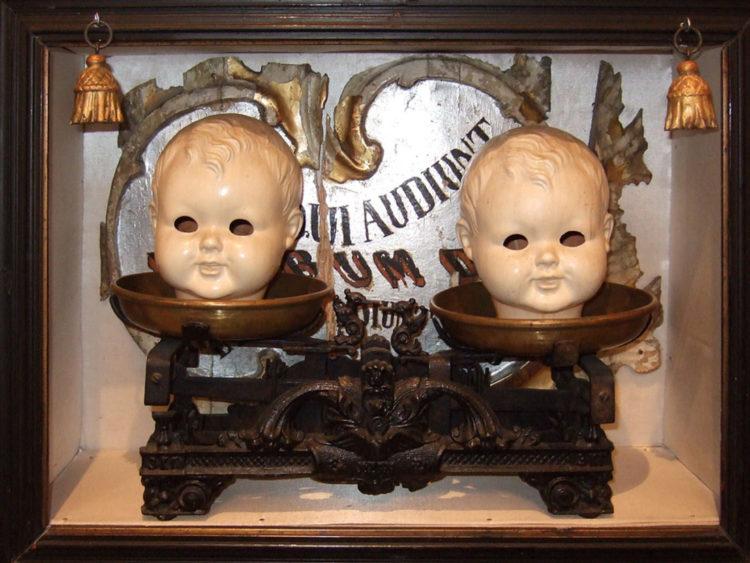 Инсталляция в Музее Сергея Параджанова (Ереван)