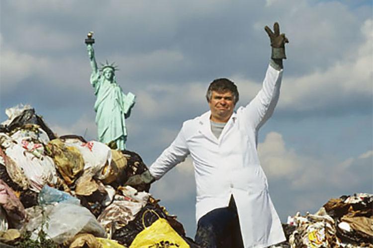 Какой ученый изучает мусор?