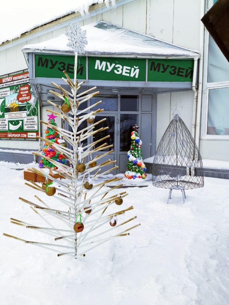 В «МУ МУ» переехали креативные бизнес-елки из Калуги